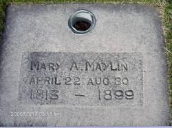 Mary Ann <I>Dean</I> Maylin