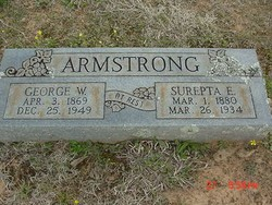 George W Armstrong