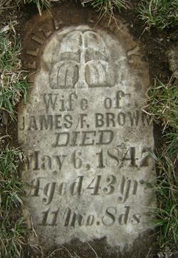 Elizabeth Y. <I>Richey</I> Brown