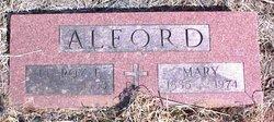 Mary <I>Urban</I> Alford