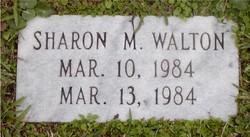 Sharon M Walton