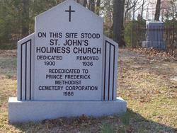 Saint Johns Holiness Church Cemetery