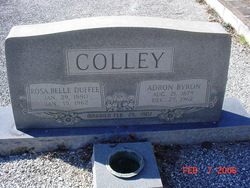 Rosa Belle <I>Duffee</I> Colley