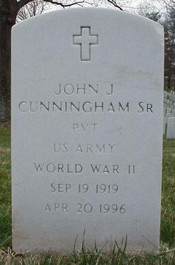 John J Cunningham, Sr