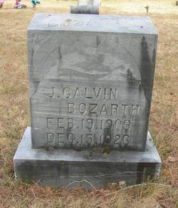 John Calvin Bozarth