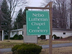 Nebo Lutheran Chapel and Cemetery