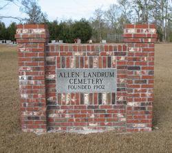 Allen Landrum Cemetery