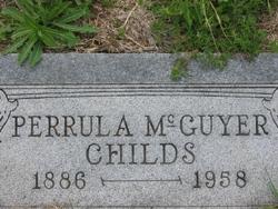 Perrula <I>McGuyer</I> Childs