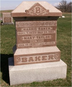 Mary <I>Taylor</I> Baker
