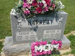 Bessie A <I>Covey</I> Barrett