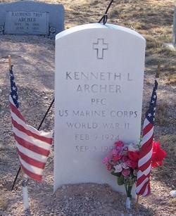 Kenneth L Archer