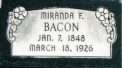 Miranda Foutz Bacon