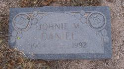 Johnie M Daniel
