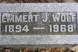 Emmert J Wolf