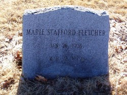 Marie <I>Stafford</I> Fletcher