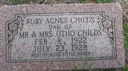 Ruby Agnes Childs