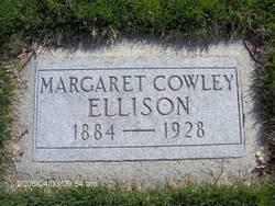Margaret Jane <I>Cowley</I> Ellison