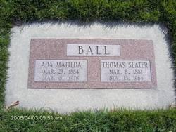 Thomas Slater Ball