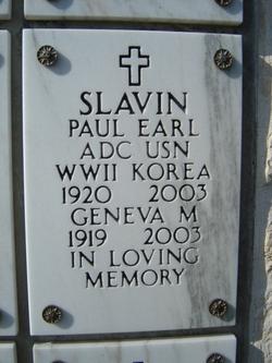 Paul Earl Slavin