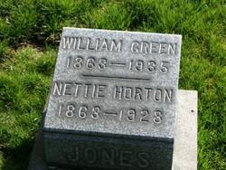 Nettie <I>Horton</I> Jones