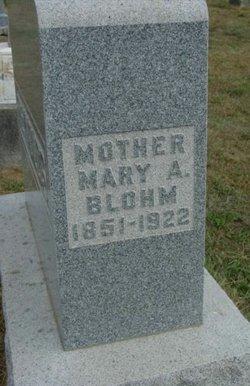 Mary A <I>Blohm</I> Reynolds