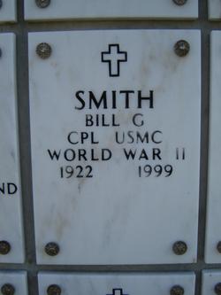 Bill G Smith
