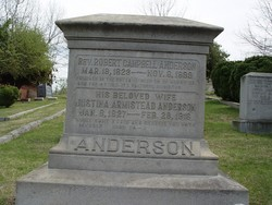 Justina Campbell <I>Armistead</I> Anderson