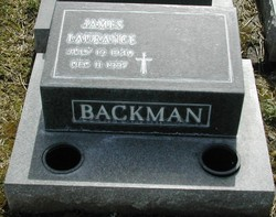 James Laurance Backman