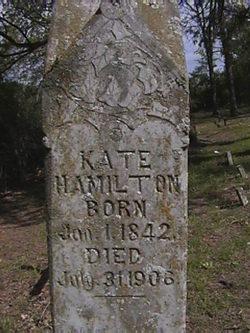 """Mary Catherine """"Kate"""" <I>Hughes</I> Hamilton"""