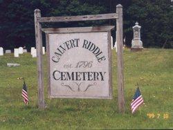 Calvert Riddle Cemetery
