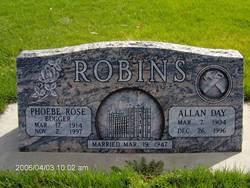 Phoebe Rose <I>Bugger</I> Robins