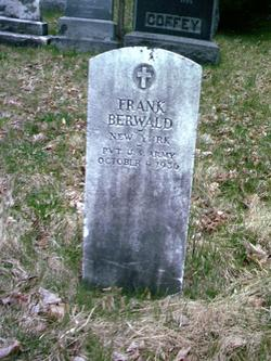 Pvt Frank Berwald