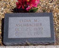 Lydia M Aschbacher