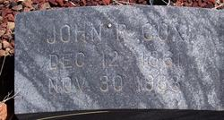 John Robert Cox
