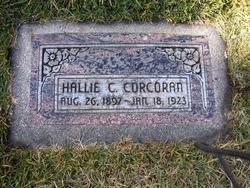 Hallie <I>Cahoon</I> Corcoran
