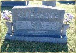 Eldee Lucretia <I>Lovelace</I> Alexander