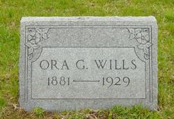 Ora Grace Wills