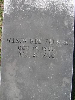 Wilson Bibb Folmar