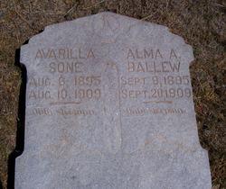 Alma A Ballew
