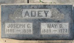 May Deliah <I>Adams</I> Adey