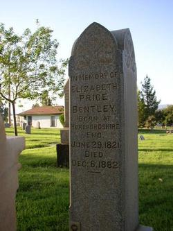 Elizabeth <I>Price</I> Bentley