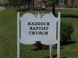 Haddock Baptist  Church Cemetery
