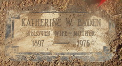 Katherine W. Baden