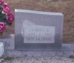 Gladys <I>Bracewell</I> Allen