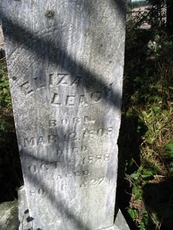 Eliza <I>Allison</I> Leach