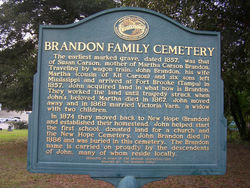 Brandon Family Cemetery