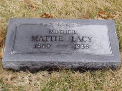 "Martha Frances ""Mattie"" <I>Bristow</I> Lacy"