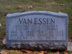 Commer Van Essen, Sr