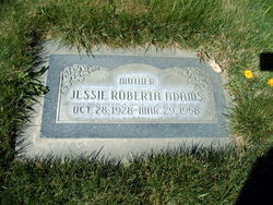 Jessie Roberta <I>Briggs</I> Adams