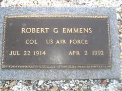 COL Robert G. Emmens